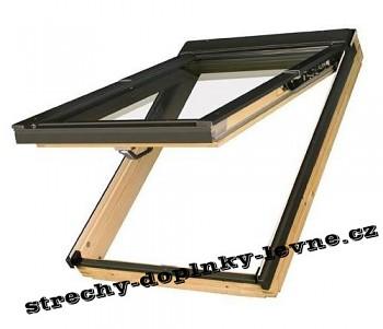 Střešní okno dřevěné výklopně-kyvné Fakro FPP-V U3 78 x 98 cm
