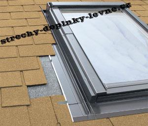 Fakro těsnící lemování ESW pro termoizolační výlez do plochých krytin 55 x 78 cm