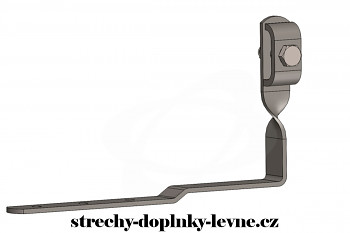 Podpěra vedení PV 22 a nerez pod krytinu (šindel, eternit a tašky)