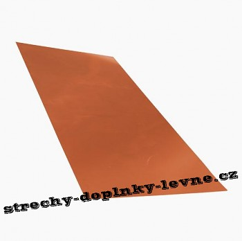 Plech tabulový, hliník lakovaný - mat 1 x 2 m