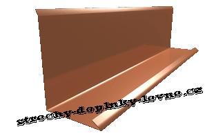 Lemování zdi boční - lesk, r.š. 330 mm
