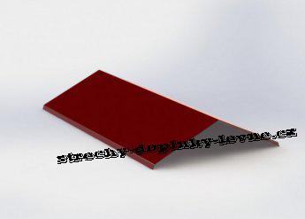 Hřebenáč V - lesk, r.š. 500 mm