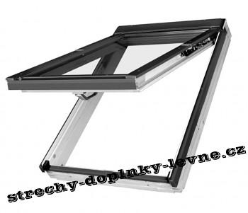 Střešní okno plastové výklopně-kyvné Fakro PPP-V U3 78 x 140 cm