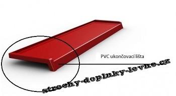 PVC ukončovací lišta na parapety