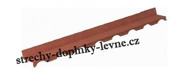 Hřebenová lišta pro profil GERARD® Toskána
