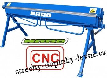 Ruční ohýbačka plechu ZG 2000/1,2mm CNC