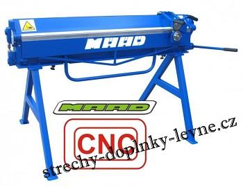 Ruční ohýbačka plechu ZG 1400/0,8mm CNC
