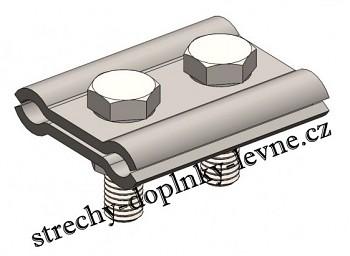 Svorka SS FeZn spojovací - tloušťka 3 mm