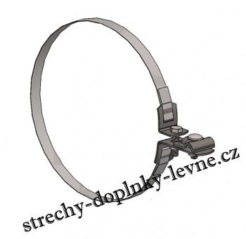 Svorka ST uni nerez - s páskou na okapové potrubí univerzální